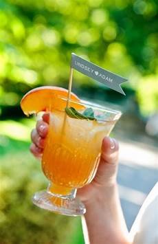 Wedding Signature Cocktail Ideas