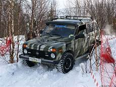 Lada 4x4 Niva Winter Road Yegor Zegerov Flickr