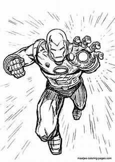 Superhelden Ausmalbilder Ironman Ironman Coloring Page