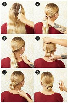 Bun Anleitung - low bun hair tutorials every should try in summer