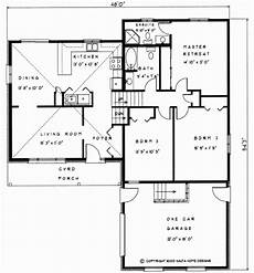 backsplit house plans 1361 sq ft change to open concept living backsplit house
