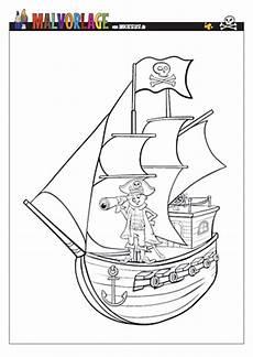 bilder zum ausmalen din a4 drucke selbst piratenschiff zum ausmalen