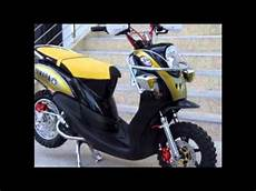 Matic Modif Trail by Modifikasi Motor Matic Yamaha Fino Modif Trail