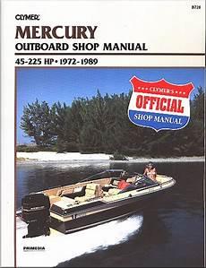 free online car repair manuals download 1989 mercury cougar electronic throttle control mercury 45 225 hp merc inline 4 6 v6 repair manual 1972 1989