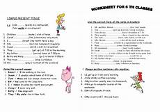 grammar worksheets simple present tense 24967 worksheets present simple show and text