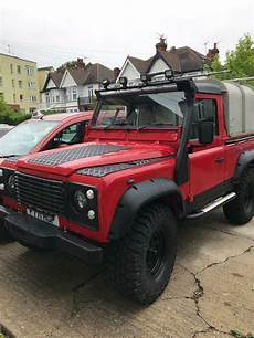 Land Rover Defender 90 Up In Westcliff On Sea
