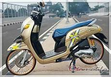 Babylook Scoopy by 2019 Modifikasi Scoopy Terbaru Babylook Thailook Stylish