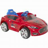 Boys Ride On Toy Car Spider Man 6V Speed Electric Battery