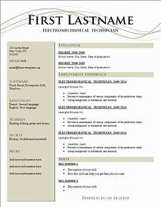 free resume templates australia resume template free sle resume templates job resume format