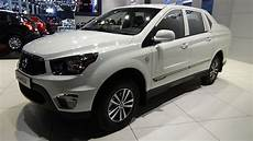 2018 Ssangyong Actyon Sports A 220s Exterior And