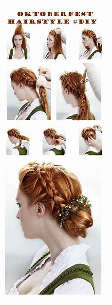 Oktoberfest Traditional Inspired Hairstyle Diy Kendin