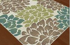 Contemporary Floral Area Rugs ivory contemporary floral petals area rug multi color