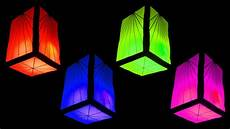 How To Make Fancy Paper Lantern Cube And Home
