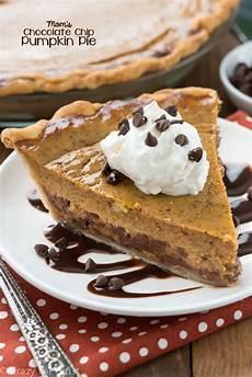 S Chocolate Chip Pumpkin Pie For Crust