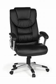 bürostuhl mit b 252 rostuhl drehstuhl kunstleder ergonomisch schwarz