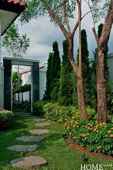 Home Co Id Garden Taman Villa Bergaya Kolonial Desain