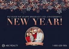 real happy new year card 6 gorgeous happy new year cards for realtors