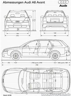 Audi A6 Avant Kofferraum Maße - abmessungen avant vfl umstieg opel auf audi audi
