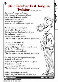 Our Is A Tongue Poem Primary Ks1 Ks2