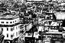 Gambar Hitam Dan Putih Kaki Langit Pemandangan Kota