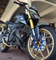 Warna Velg Motor Keren by Hanya Dengan Mengganti Warna Velg Jadi Emas Yamaha Mt 15