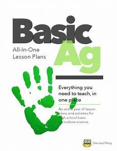 earth science lesson plans high school 13395 basic ag high school all in one lesson plans only school lessons teaching lesson