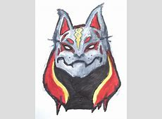 Tried to make the Drift mask but it looks like cat.. I