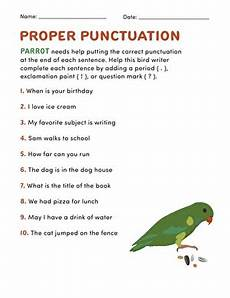 punctuation worksheets skillsworkshop 20892 proper punctuation worksheet education