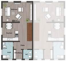 Moderne Doppelhäuser Grundrisse - das doppelhaus aura 125 grundriss erdgeschoss ihr town