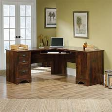 sauder home office furniture sauder 420474 harbor view corner computer desk home