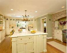 traditional white country kitchen painted color love all