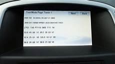Opel Navi 650 Menu Test Mode Vauxhall Astra