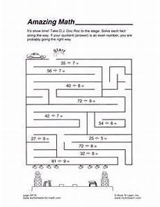 free math worksheets math maze maze worksheet math addition worksheets