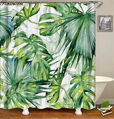 shower curtains with green aliexpress buy tropical shower curtains green shower