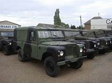 Land Rover Defender Army Car From Belgium For Sale At
