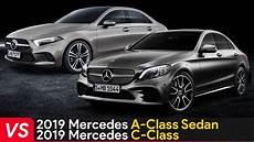 2019 Mercedes A Class Sedan Vs Mercedes C Class
