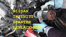 transmission control 2010 infiniti ex electronic toll collection remove starter 2010 infiniti qx56 2006 infinity m 35 starter youtube