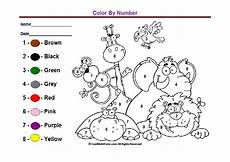 printable color by number worksheets for kindergarten 16190 preschool colors kindergarten coloring worksheets lingua inglesa