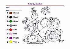 color by number worksheets 16131 preschool colors kindergarten coloring worksheets lingua inglesa