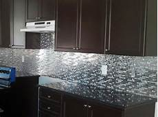 stainless steel backsplash a sleek shine for a modern