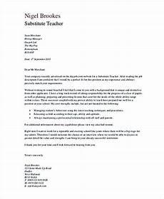 substitute teacher cover letter in pdf sunsets sunrises
