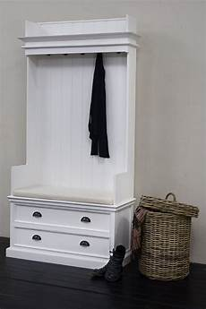 Garderobe Garderobenschrank Wei 223 Im Landhausstil Aus