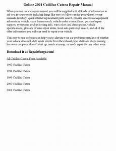 free download parts manuals 2001 cadillac catera on board diagnostic system 2001 cadillac catera repair manual online by rsajankkd issuu
