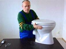 keramag wc sitz montageanleitung montageanleitung f 252 r einen wc sitz