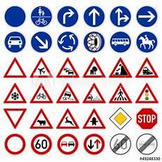 Quot Verkehrszeichen V2 Sammlung Ii Quot Stockfotos Und