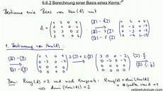 6 6 2 berechnung einer basis eines kerns