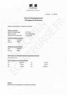 changement propriétaire véhicule accus 233 d enregistrement d une carte grise explications