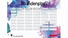12 stundenplan zum ausdrucken exemple cv etudiant