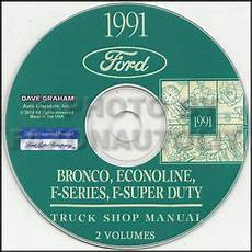 vehicle repair manual 1991 ford f series electronic valve timing 1991 ford pickup truck shop manual cd bronco f150 f250 f350 f super duty service ebay