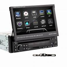 7 Quot Single 1 Din Touch Screen In Car Deck Radio Dvd Player